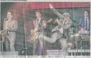 Partyband Tom Browne aus Köln-Bonn rockt auf Europatag