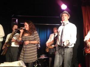 TB-Partyband mit Daniella Boyd im Tubac, Bonn