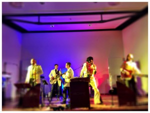 Elvis mit TBP, der Tom browne Partyband in Hennef, NRW